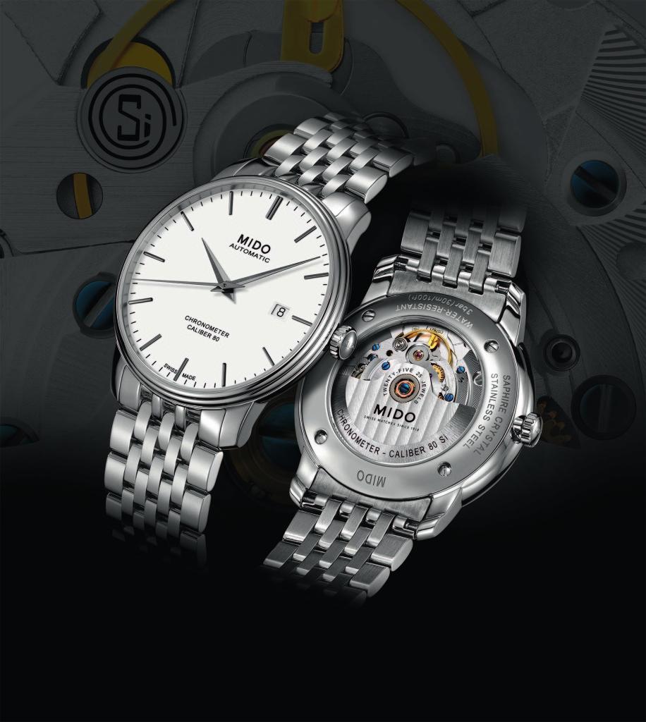 美度表永恆系列80小時天文台認證矽材質腕錶