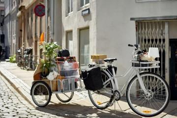 SLADDA自行車獨特之處在於將每日在城市移動的各種需求簡化了,能夠依據當天的行動需求輕鬆安裝合適的自行車配件。 (2)
