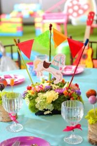 「迷你壽星派對」宴會專案_豐富兒童桌