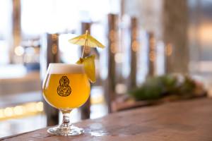 慶祝Driftwood開幕特製精釀啤酒版Pina Colada