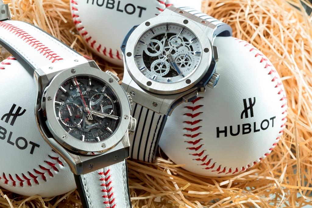 HUBLOT Classic Fusion World Baseball Softball Confederation 經典融合系列世界棒球12強限量腕錶 Hublot Big Bang Aerobag MT88 田中將大限量款腕錶 (2)
