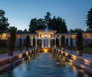 Pavilion Sunset Canyon Ranch Wellness Resort Lenox Massachusetts
