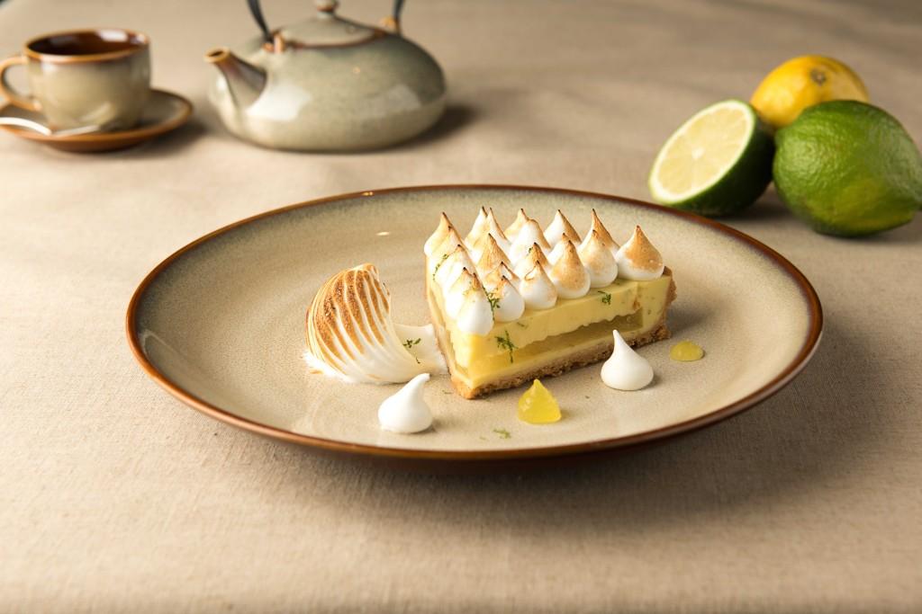 甜點:佛手柑檸檬塔