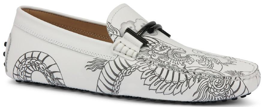 男士刺青圖騰系列:Double T豆豆鞋、休閒板鞋與釘釦繫帶休閒鞋
