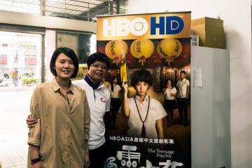 索菲亞與《通靈少女》製片劉瑜萱受訪談合作緣起。