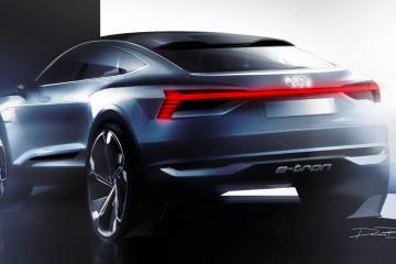 Audi E-Tron Sportback Concept 2017上海車展