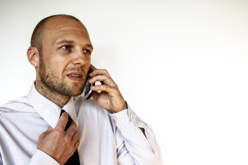 business men phonecall