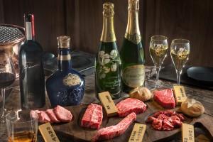 保樂力加四款代表酒款與和牛之間的完美結合 一次體驗不同層次的味覺旅程