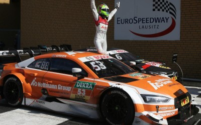 Audi RS 5 DTM再創佳績