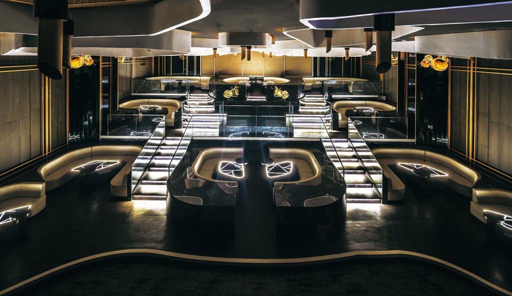 [圖]KOR可延展的階梯式包廂設計