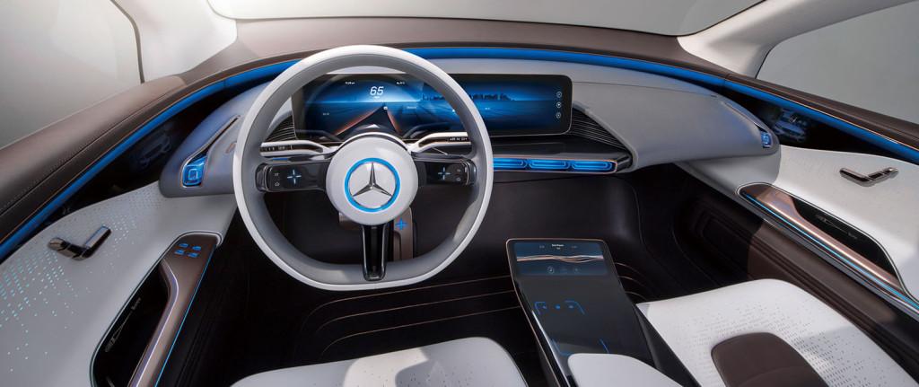 Generation EQ, Interieur, fahrerorientiertes Cockpit ; Generation EQ, interior, driver-oriented cockpit;