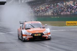 Audi RS 5 DTM驚艷德國Hockenheimring賽場。