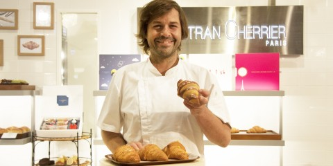 Gontran主廚專程來台,為GC夏日新品5款泡芙可頌站台