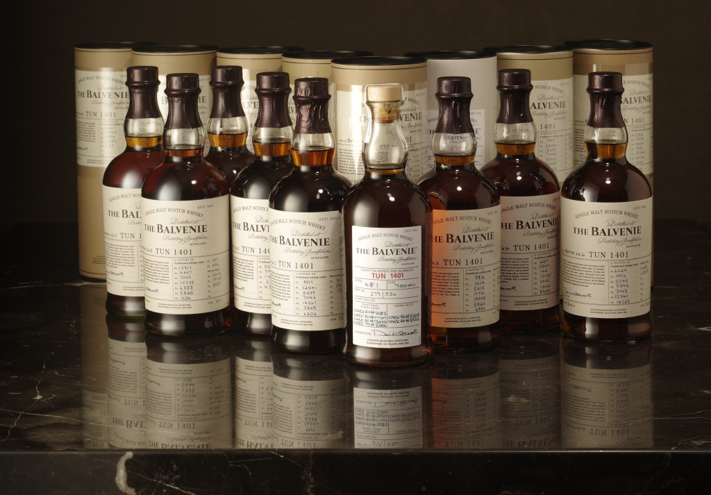 Lot 406 The Balvenie Tun 1401 Batch 1-9