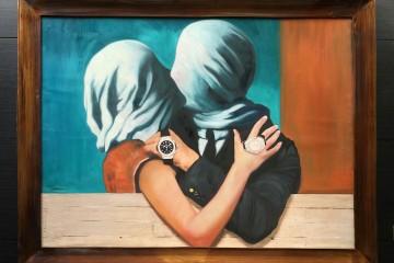 Mr. Brainwash以經典名畫為靈感而創作的Hublot Blind Lovers。