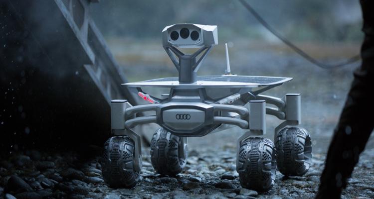 Audi支援Part-time Scients團隊開發月面太空探測車。