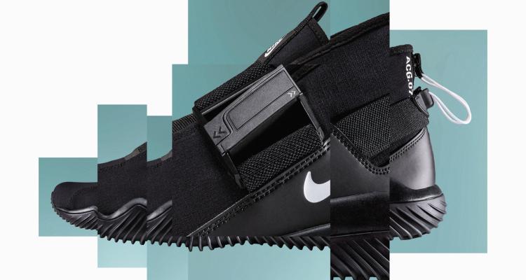 Nike Lab推出新鞋款ACG.07.KMTR,獨特的穿鞋系統再度顛覆想像。