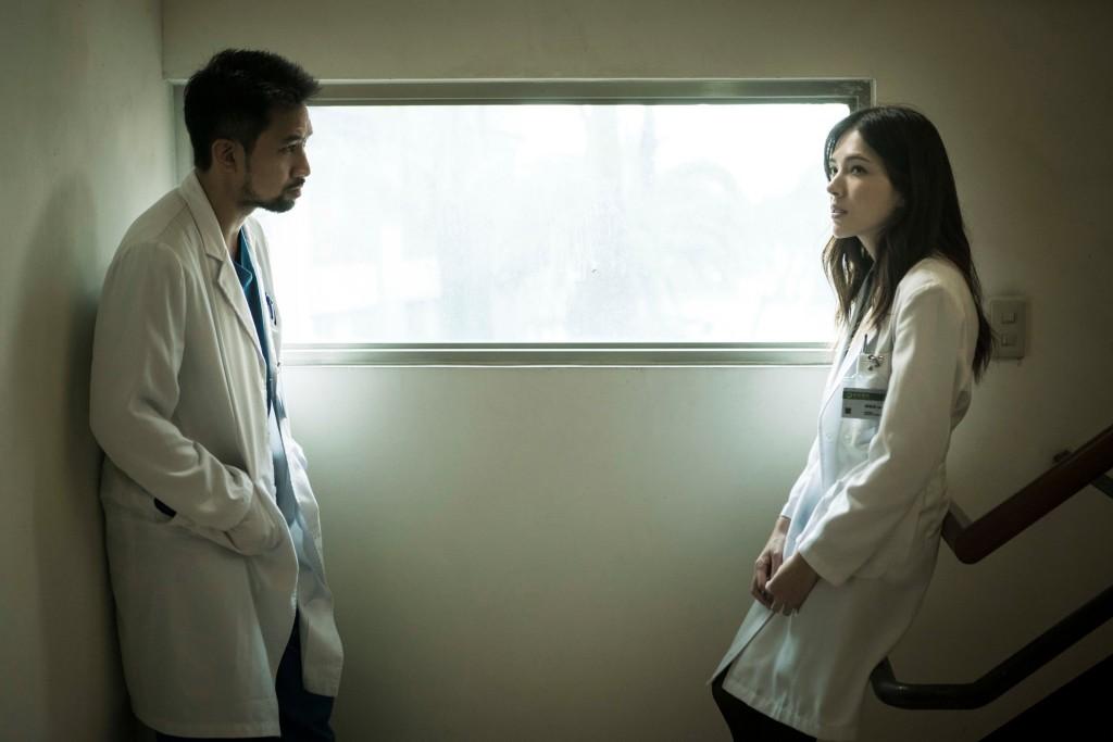 《麻醉風暴2》 演員黃健瑋(左)、許瑋甯。