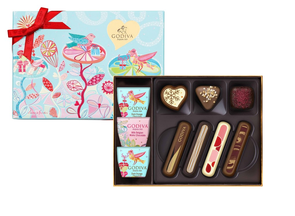 七夕情人節巧克力禮盒10顆裝 NT$1,180