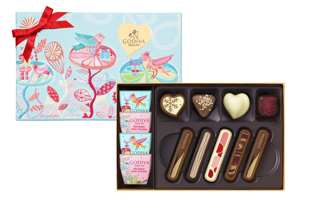 七夕情人節巧克力禮盒13顆裝-NT1500
