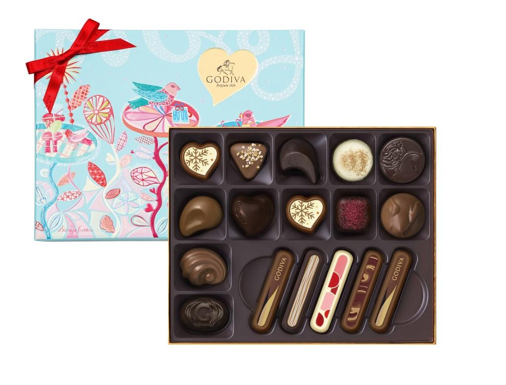 七夕情人節巧克力禮盒17顆裝 NT$2,150