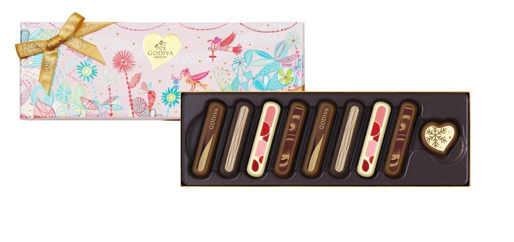 七夕情人節巧克力禮盒9顆裝-NT1480