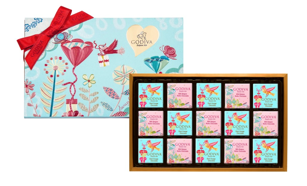 片裝巧克力禮盒15片裝-NT820