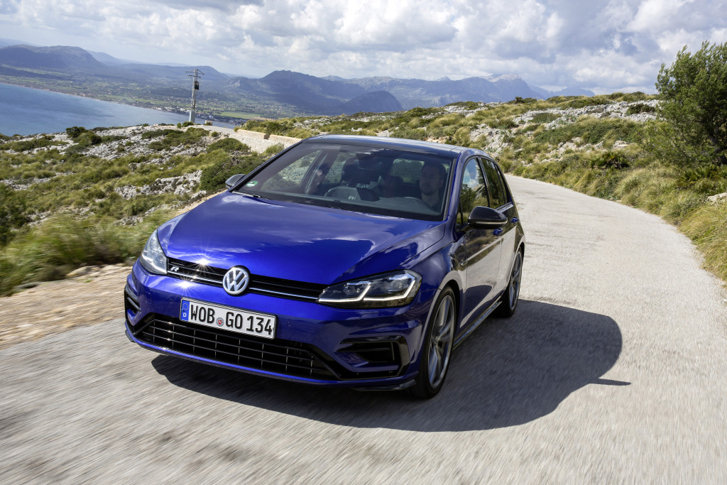 The new Golf R