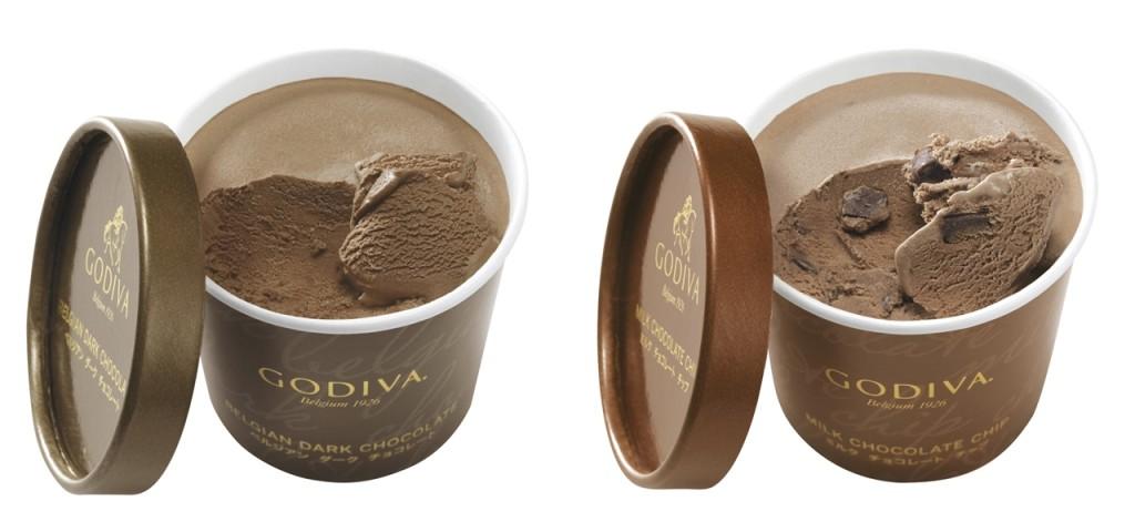 經典巧克力口味:比利時黑巧克力 、牛奶巧克力及巧克力碎 。