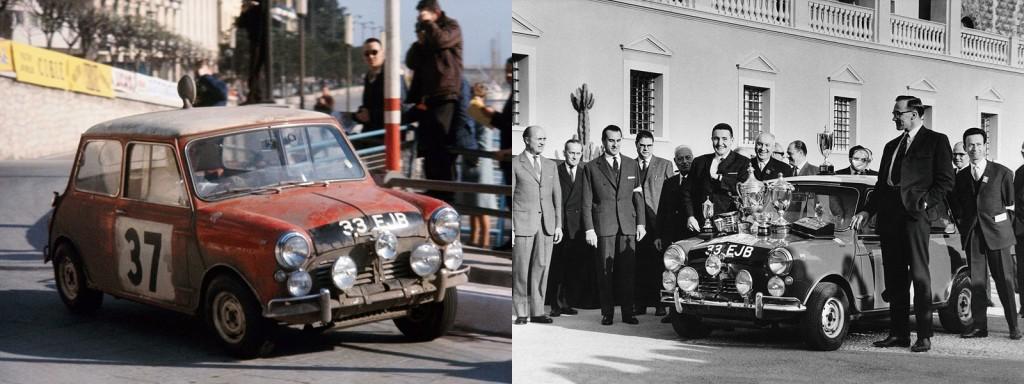 1964年,John Cooper打造一部馬力只有90匹的Mini Cooper S賽車,竟然勇奪摩洛哥Monte Carlo越野大賽冠軍,從此開啟性能前驅的造車觀念。