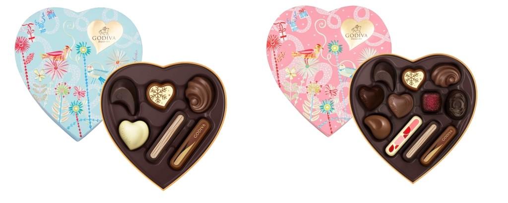 七夕情人節巧克力心形禮盒  6顆裝NT$1,150 / 11顆裝NT$1,800  *台灣與中國限定禮盒