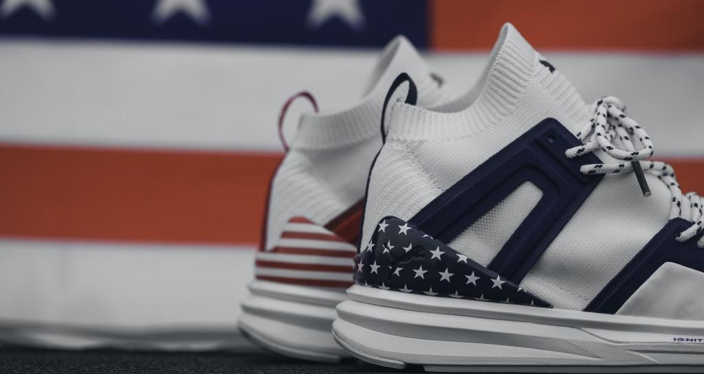 B.O.G Limitless Hi 4 July FM 鞋跟以美國國旗圖樣點綴 - NT$4,580