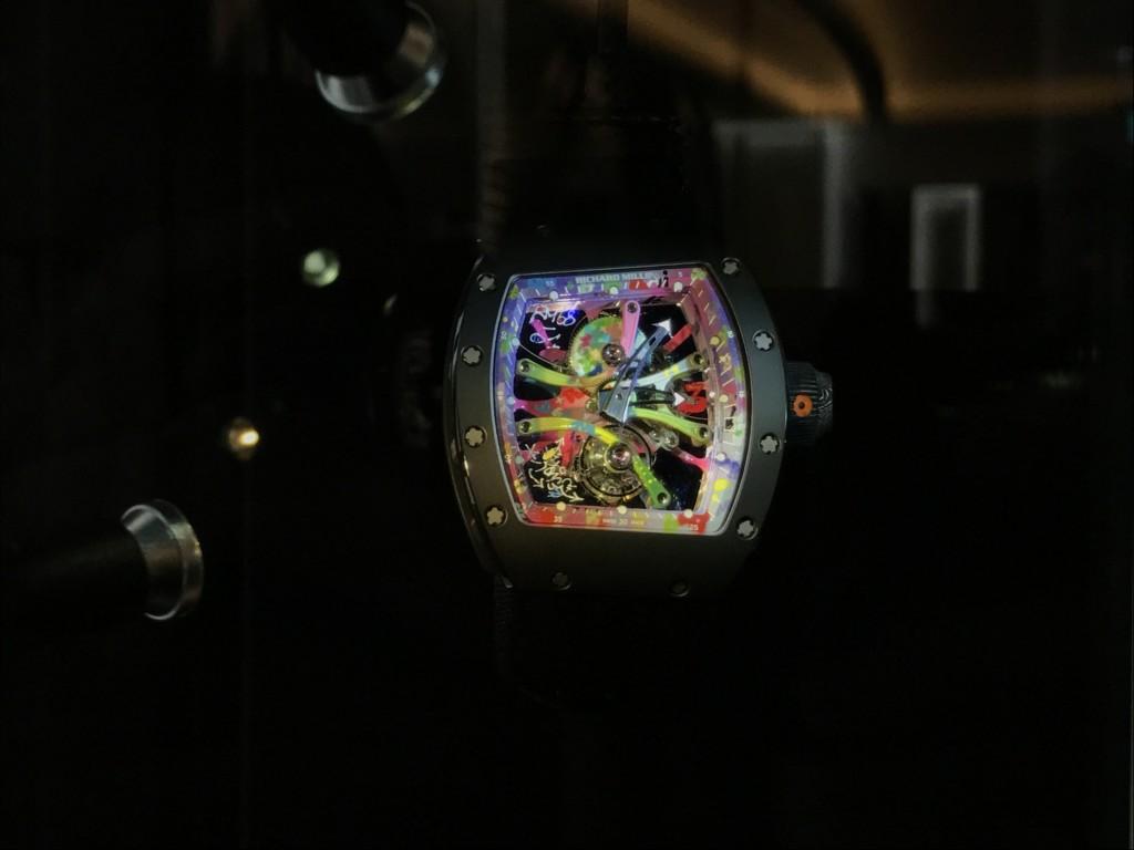 Richard Mille與藝術家Cyril Kongo合作的歷史性錶款是亮點。