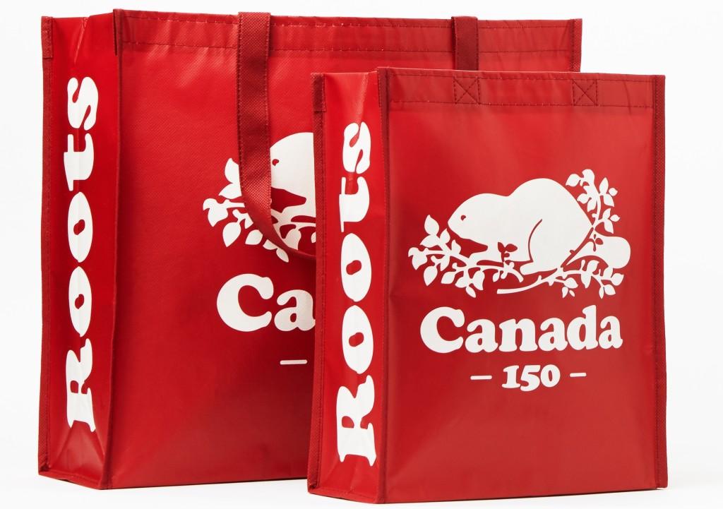 Roots加拿大150周年環保購物袋