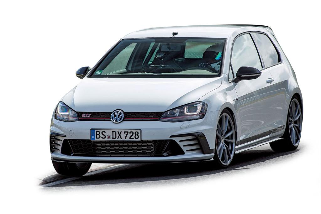 拆掉後座椅、換上熱融胎,全球限量400部的VW Golf GTI Clubsport S在Nurburgring Nordschleife北賽道跑出7分49秒19,上市不久就銷售一空。