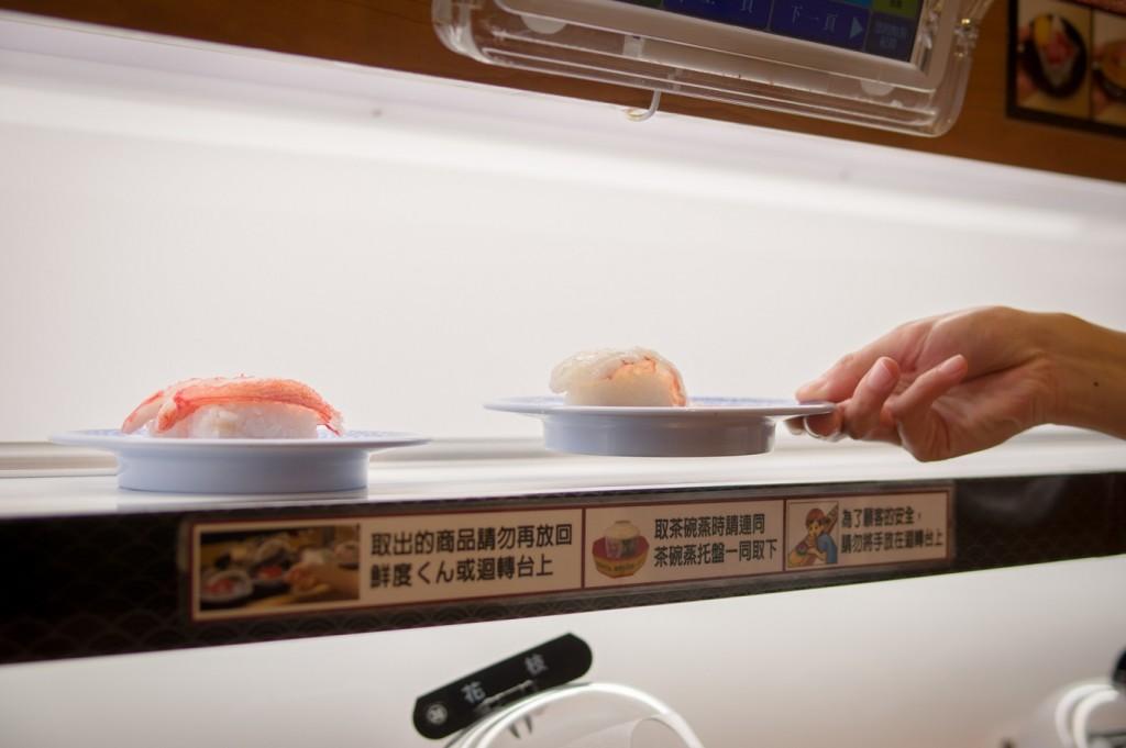 特色-送餐(用觸控螢幕點餐部份)