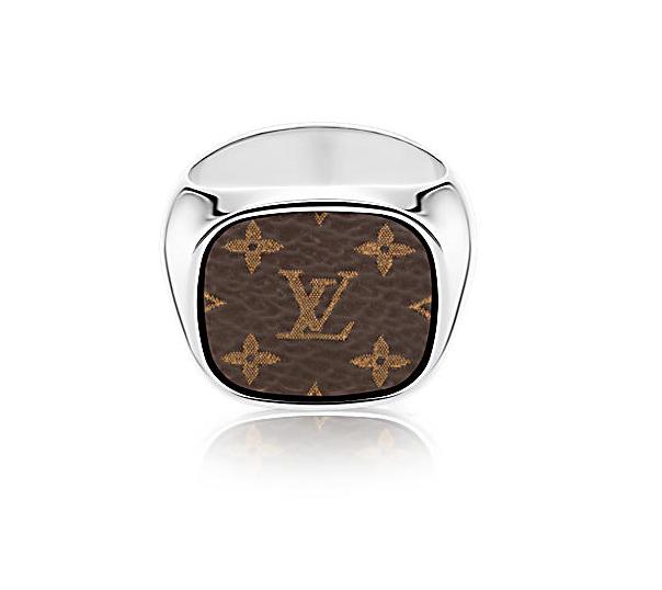 Louis Vuitton x Supreme For Gentlemen Signet Ring