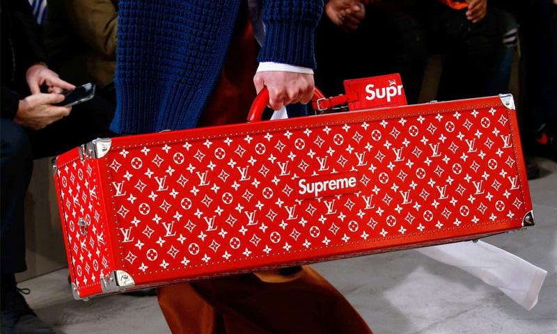 Supreme x Louis Vuitton BOITE SKATEBOARD